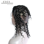 Cici Collection Pre Plucked 360 Lace Frontal With Wig Cap Brazilian Deep Wave Frontal Natural Hairline 360 Lace Virgin Hair