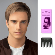 Grit | HIM Collection by Hairuwear, Wig Galaxy Hairloss Booklet, & Wide Tooth Comb (Bundle - 3 Items), Colour Chosen