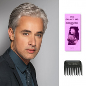 Classic | HIM Collection by Hairuwear, Wig Galaxy Hairloss Booklet, & Wide Tooth Comb (Bundle - 3 Items), Colour Chosen