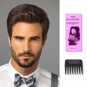 Style   HIM Collection by Hairuwear, Wig Galaxy Hairloss Booklet, & Wide Tooth Comb (Bundle -3 Items), Colour Chosen
