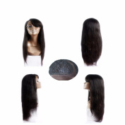 8A Full Lace Human Hair Wigs for Black Women Glueless Full Lace Wigs Brazilian Virgin Hair Straight