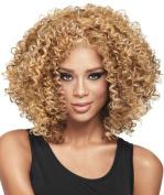 ATOZHair Newest Arrival Nature Curly Wave Blondle Women Wig High Temperature Fibre.