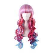 Longlove Ladies wig wig Halloween makeup ball play game wig ...