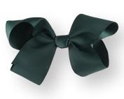 Hair Bow 5.1cm Grosgrain Ribbon 18cm Width Hunter Green