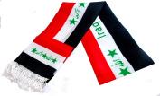 Unisex Iraq Flag Scarf Arabian Shemagh Shawal Desert Tactical Fashion Wrap Iraqi Keffieh Hatta