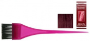 Stargazer Semi-Permanent Conditioning Hair Colour Rinse - Eggplant & Tinting Brush by Stargazer