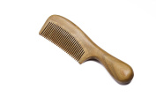 Silentrees Wood Hair Comb - Sandalwood Handmade Normal Teeth