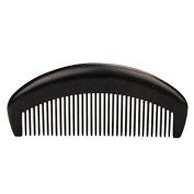 "Handmade Premium Quality Natural Ebony Wood (Black Sandalwood) Medium Tooth Massage Hair Comb, No Static Pocket Wooden Comb 5"""