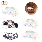 OR Pure Roll Rings Donut Updo Chignon Former Pads Hair Bow Ties Ponytail Holders Hair Styler Curler Braid Ponytail Hairstyle Styling Tool Hair Bun Stretchy Elastic Styling Tool Accessories Pearl Style