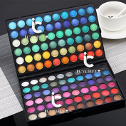 120 Colours Makeup Eyeshadow Party Salon Shimmer & Matte Eye Shadow Palette Set