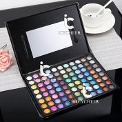 Cosmetics Matte Shimmer Eyeshadow Powder Palette Eye Shadow Makeup Neutral Smoky