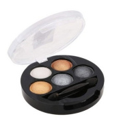 Eyeshadow - UBUB Eye Shadow Creamy Pigment Shimmer Powder Mineral Texture Waterproof Makeup 001 Earth colour