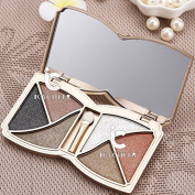 6 Neutral Colours Makeup Eyeshadow Palette Eye Shadow Shadding Nude Smoky Warm