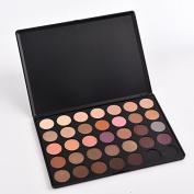 Thinkmax Warm 35 Colours Eyeshadow Set Professional Makeup Palette Box Eye Shadow Pigments Cosmetic-03#