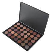 RUIMIO Eyeshadow Palette with 35 Warm Shimmer Colours