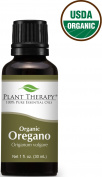 Plant Therapy Essential Oils, 100% Pure USDA Certified Organic Oregano Essential Oil, Undiluted