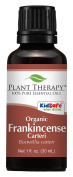 Plant Therapy Essential Oils, 100% Pure USDA Certified Organic Frankincense Carteri Essential Oil, 30ml, Undiluted