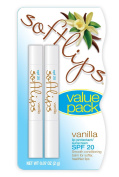Softlips Lip Protectant SPF 20 Value Pack-Vanilla