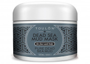 Dead Sea Mud Mask for Face and Body; Exfoliating Facial Mask to Replenish Minerals, Remove Toxins and Renew Skin Cells
