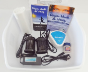 FOOT SPA DETOX MACHINE - With Foot Basin - FREE Regain Health and Vitality Brochure and 16 page Booklet. - From Better Health Company
