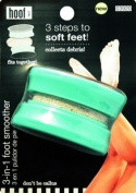 Hoof 3-in-0.3m Smoother & Callus Remover - Includes Callus Rasp, Pumice Stone & File
