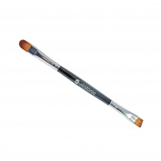 Winstonia Double-Ended Eye Shadow Blending Highlight Brow Brush Multi-purpose Travel Kit Everyday Uses