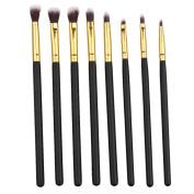Voberry® 8PCS Make up Brushes Set Eye Brushes Set Eyeliner Eye Shadow Makeup Brushes