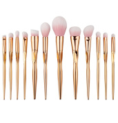 AutumnFall Makeup Brushes, Premium Synthetic Kabuki Makeup Brush Set Foundation Eyeshadow Blush Concealer Powder Brush Kit