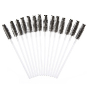 Makeup Brush , Sandistore 50pcs Disposble Eyelash Brush Mascara Wands Makeup Cosmetic Tool