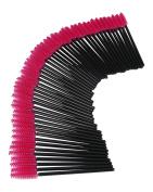 JPNK 100 PCS Disposable Eyelash Makeup Brush Mascara Wands Cosmetic Eyelash Extension Applicators