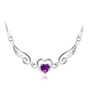 OVERMAL Women Jewellery Fashion Angel Wing Heart Pendants Necklace Lover