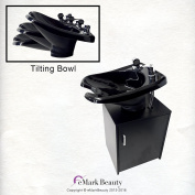 Beauty Salon Backwash Shampoo Bowl Salon Sink with Shampoo Cabinet TLC-13C-T
