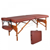 BestMassage 70cm Professional Portable Massage Table With Memory Foam Layer