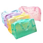 Sunward Women Waterproof PVC Clear Storage Box Case Makeup bag Cosmetics Bag Bathroom Products