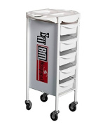 Shengyu Hair Salon 5 Tier Storage Tray Cart Home Spa Hairdressing Trolley