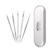 KCOOL Blackhead Removal Kit, Best Blackhead Acne Pimple Comedone Extractor Remover Tool