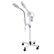 Nova Microdermabrasion 2in1 Professional Ozone Facial Steamer with Magnifying Lamp Salon Spa Beauty Equipment