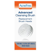 AcneFree Replacement Brush Heads, 2 Count