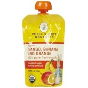 Peter Rabbit Organics Mango, Banana And Orange 10x 120ml