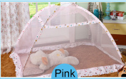 CUTI Pop-Up Mosquito Tent without Bottom Cover - Baby Bed Canopy Safety Drapes