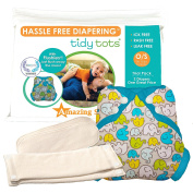 Tidy Tots Nappies Hassle Free 2 Nappy Elephant Cover
