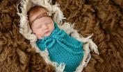 Newborn Baby Sleeping Bag Photography Photo Prop Wrap Baby
