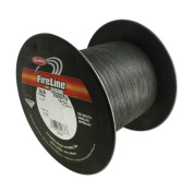 FireLine Braided Beading Thread, 3.6kg Test and 0.02cm Thick, 1500 Yard Bulk Spool, Smoke Grey