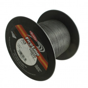 FireLine Braided Beading Thread, 2.7kg Test and 0.02cm Thick, 1500 Yard Bulk Spool, Smoke Grey