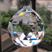 TOOL GADGET 30 mm Chandelier Crystal Ball Prisms Drops Wedding Decorations Crystal Beads For Ceiling Lights