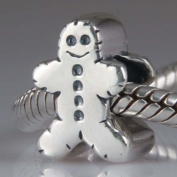 Snowman Charm 925 Sterling Silver Christmas charm Gift Beads for Pandora Charm Bracelet
