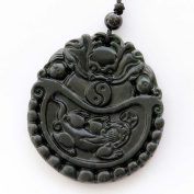 Clear silicone Amulet Pendant Moulds, Happy Lucky Dragon Taiji Pixiu Coin Amulet Pendant,Size 50x46mm. (3-33) Free USA shipping!