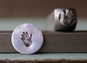 Brand New Supply Guy 6mm Healing Hand of Miriam Punch Design Stamp CH-118