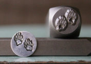 Brand New Supply Guy 10mm Bear Claws or Tracks Metal Punch Design Stamp CH-114