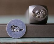 Brand New Supply Guy 8mm Dinosaur Metal Punch Design Stamp CH-117